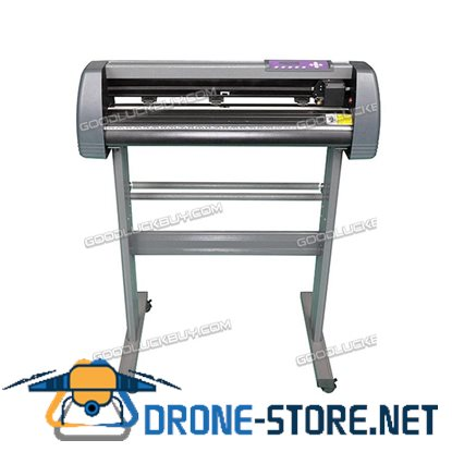 New MH720 Refine Vinyl Cutter Plotter Sign Writing Cutting Carving Machine Grey