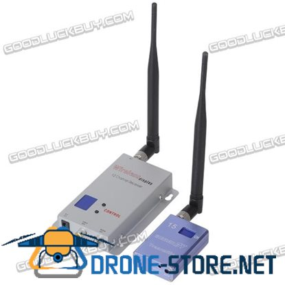 1.2GHz 700mW 15 Channels Wireless Room-to-Room Audio/Video Transmitter Receiver