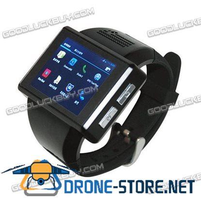 "AN1 2"" Android 4.1 Dual Core Touch Bluetooth Smart Watch GSM Phone 2.0MP WiFi GPS FM"