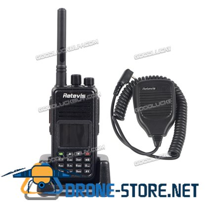 Digital Radio DMR Retevis RT3 Walkie Talkie 1000CH 2000mAh UHF VOX + Programming Cable+ Mic
