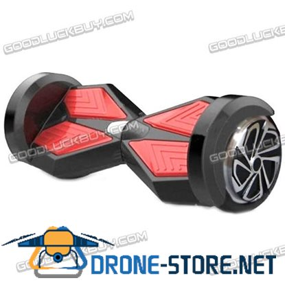 "8"" Self-balancing Electric Standing Scooter Unicycle 2 Wheels Bluetooth with LED"