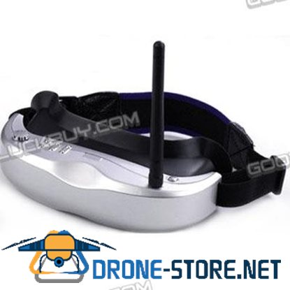 Head Tracking High-quality AIO Function FPV video goggle 2.4G&5.8G Receiver JR Futaba