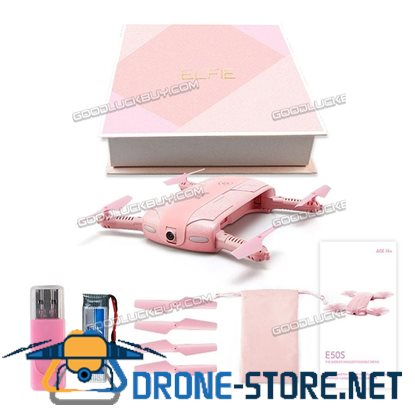 JJRC H37 Elfie RC Quadcopter WIFI FPV Real-time Video 2MP Foldable Valentine Pink