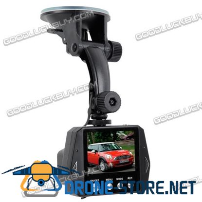 """2.5"""" LCD Night Vision Vehicle Car HD DVR Video Recorder Security Camera"""