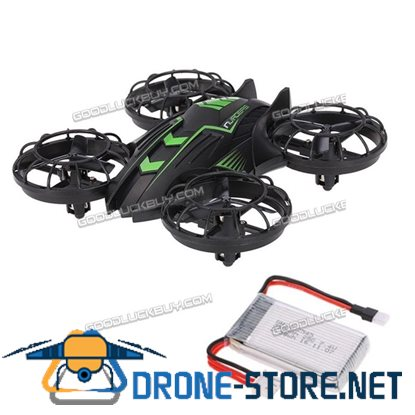 JXD 515W Altitude Hold Drone 2.4G 4CH Quadcopter w/ 0.3MP Camera + One Extra Battery Green