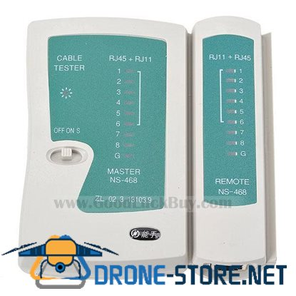 RJ45 RJ11 2-in-1 Network and Phone Cable Tester