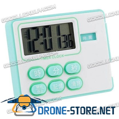Timer Alarm Countdown Clock Memory Feature 1 Sec to 24 hr G