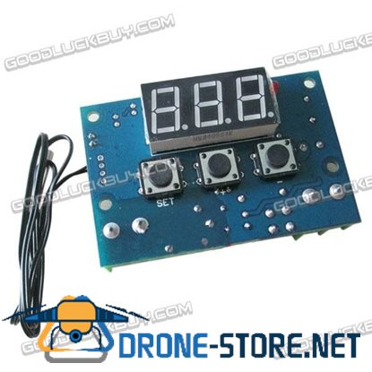 W1302 Enhanced Temperature Controller Displayer Temperature Control Switch Waterproof