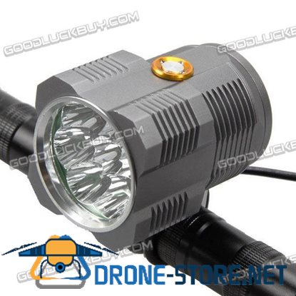 8000LM CREE XM T6 Waterproof Front Headlight Bike Lamp Bicycle Light with Taillight for LT-8T6