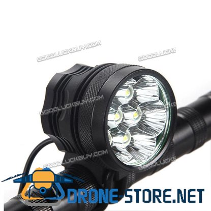 10000LM 7 CREE XM-L T6 LED Front Bicycle Light Headlamp Rechargeable Battery Bike Head Light
