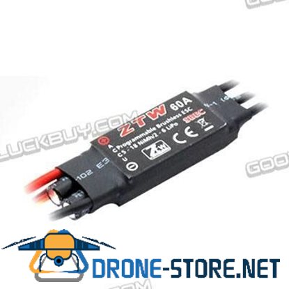 AL-ZTW 60A Programmable BEC Brushless BEC for Quadcopter Multicopter
