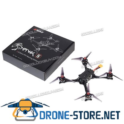 EMAX Hawk 5 Quadcopter 210mm BNF Carbon Fibre HD Camera with Frsky XM+