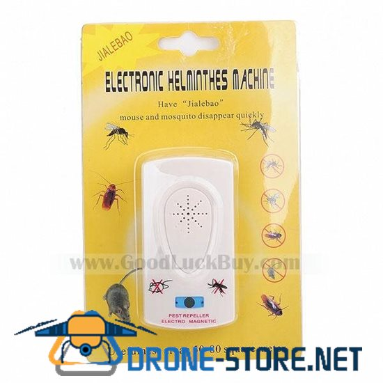 2.5W Electronic Ultrasonic Mouse and Mosquito Repeller (100~240V AC)