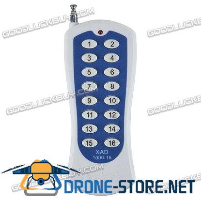 16 Keys Universal Remote Control for TV DVD VCD