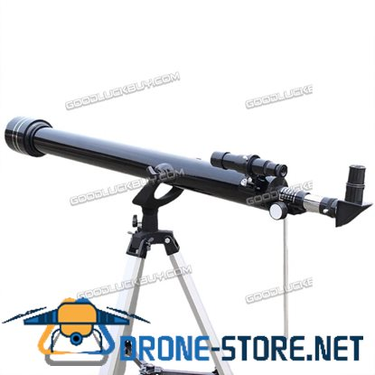 Phoenix F60900 675x High Magnification Astronomical Refractive Telescope Black
