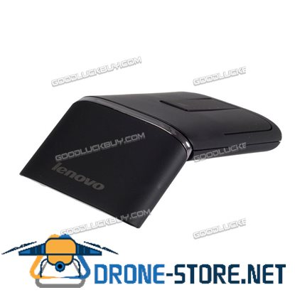 Dual Mode Lenovo N700 Bluetooth 4.0 2.4G Wireless Touch Mouse Laser Pointer Black