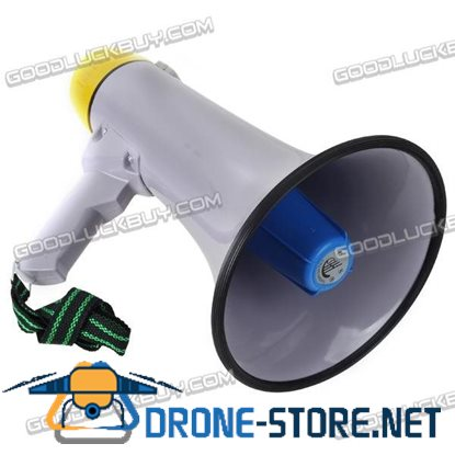 30w Handheld Pistol Grip Megaphone Loud Speaker Bull Horn Voice Amplifier Siren CS-881