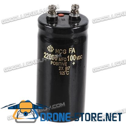 100V 22000uf Electrolytic Capacitor 120*50*50mm