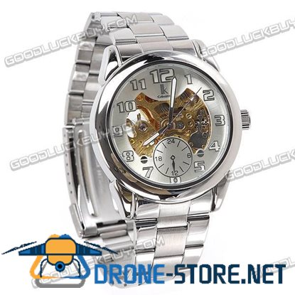 IK Colouring Automatic Mechanical Men Wrist Watch Stainless Steel 98112