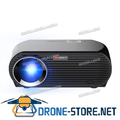 "5.8"" GP100UP HD Projector Android 6.0 LCD Quad-Core 1GB RAM 3200LM"