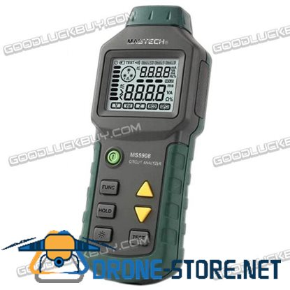 MS5908 Ture RMS Circuit Analyzer Tester compared w/ IDEAL SureTest 61-164CN