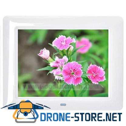 "8"" LCD Digital Photo Frame AV Output Picture Video Music Player"