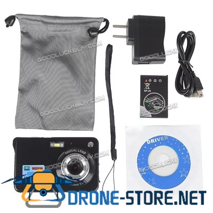 "2.7"" Amkov LCD Mini Full HD 18MP Digital Camera Video Recorder DV Cam Black"