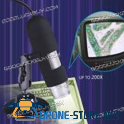 800X AV800 USB Digital Microscope for Measurement & Calibration with Simple Support