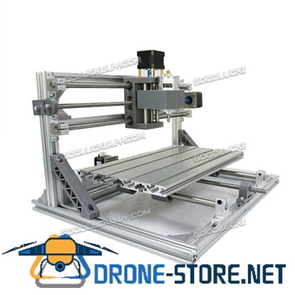 3 Axis CNC 3018 DIY Router Kit USB Wood Engraving Carving PCB Milling Machine Silver