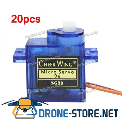 20pcs  9G SG90 Mini Micro Servo for Remote Control Robot Helicopter Airplane Car Boat