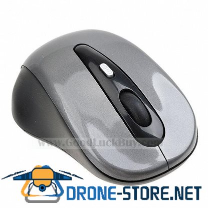 10M 2.4G USB Wireless Optical Mouse for PC Laptop Gray