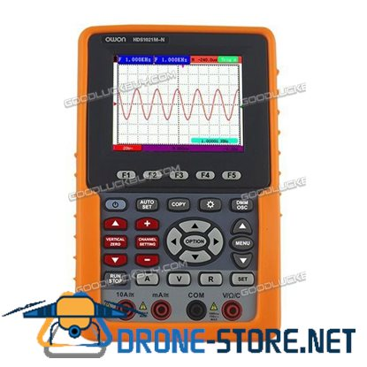 Owon HDS1021M-N Handheld Digital Storage Oscilloscope 20MHz 100MS/s