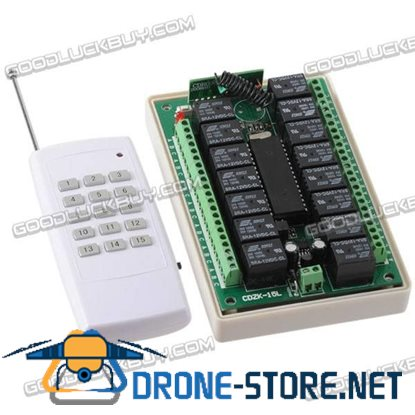 15 Channel Wireless RF Radio Remote Control Module 315MHz