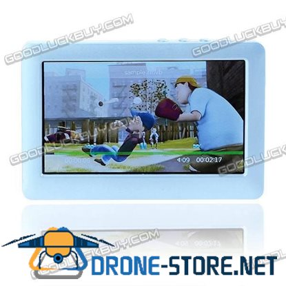 """4.3"""" PMP MP4 MP5 Movie Music Video Player TV OUT 4G Blue"""