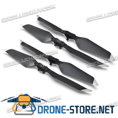 2 Pair Noise Reduction Quick Release Propellers Props for DJI Mavic Pro Platinum Silver