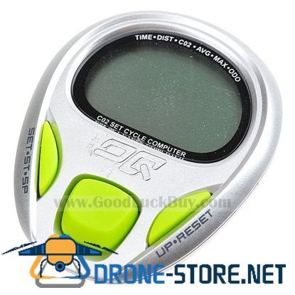OQ CO2 Offset Bike Cycle Computer Odometer Speedometer