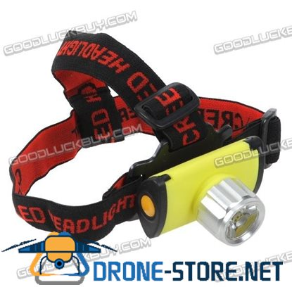 8223 Yellow Light High Power Headlamp LED Outdoor Light for Fishing Mine Carving