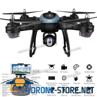 X38GWF GPS RC Drone with Camera 1080P WiFi FPV GPS FPV RC Quadcopter Blue