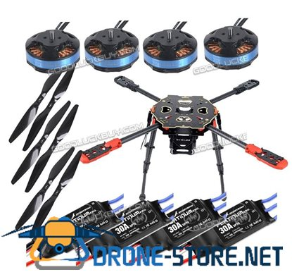 Tarot 650 Sport Quadcopter TL65S01 with Tarot 4006 Motor & Hobbywing ESC & Propeller for FPV Photography