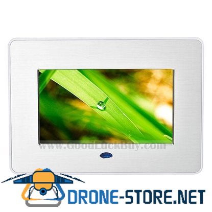 "7"" LCD Digital Photo Frame Picture Video Music Player AV Output"