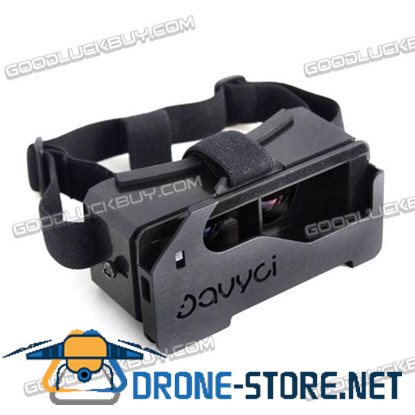"Davyci Oculus Google Cardboard 3D VR Virtual Reality IMAX Glasses for 4.5""-6"" Smartphone"