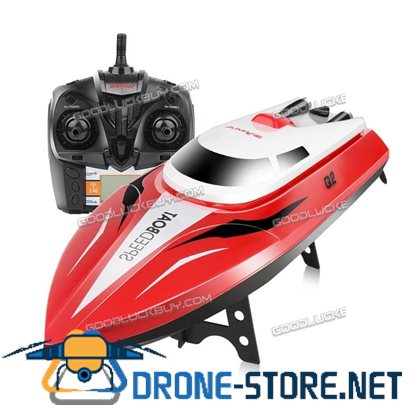 SYMA Q2 Radio Remote Control Boat Rc Racing Model Speed Boat Twin Motor Toy Red