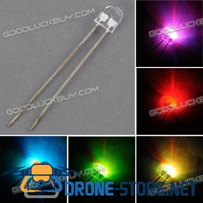 5mm RGB Multi-color LED Light Emitting Diode Lamp 1000 pcs
