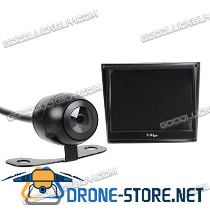 2.4GHz Wireless Car Rear View Camera Kit with 3.5 inch TFT LCD Monitor 004