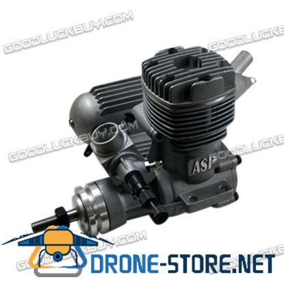 ASP 2 Stroke S46A Glow Engine with Muffler for RC Airplane