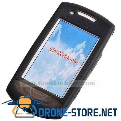 Protective Silicone Case for HTC S620 (Translucent Black)