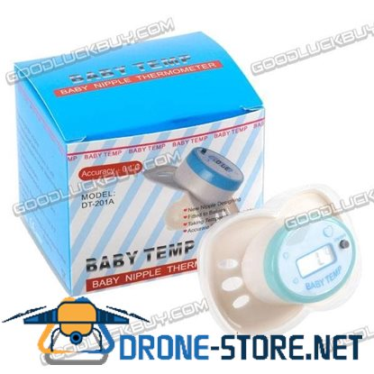 LCD Digital Infant Baby Temperature Nipple Thermometer 201