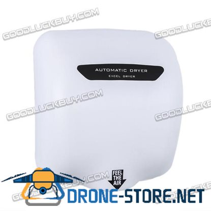 1800W Stainless Steel Automatic Hand Dryer Commercial w/ Sensor for Bathroom