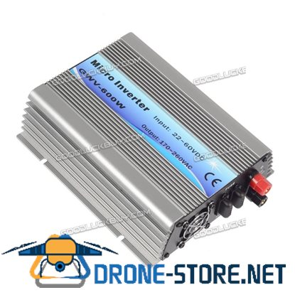 600W Grid Tie Inverter DC22V-60V to AC230V Solar Inverter for 24V/30V/36V Panel