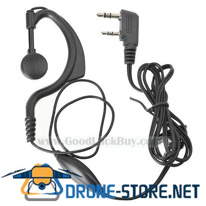 3.5mm+2.5mm Handsfree Earphone for Motorola Walkie Talkies (1.4-Meter Cable)